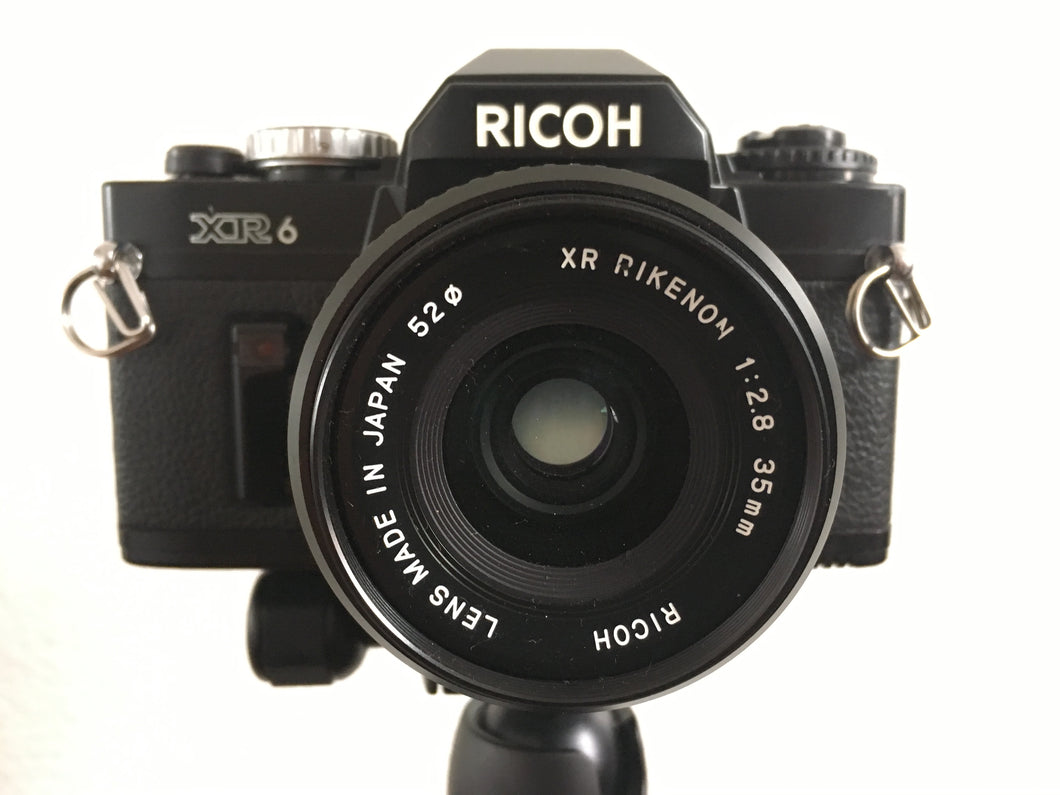 Ricoh XR 6 35mm Film Camera