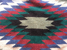 Load image into Gallery viewer, Vintage Southwest Design Woven Blanket / Rug