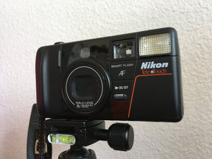 Nikon Tele Touch Vintage Point and Shoot 35mm Film Camera