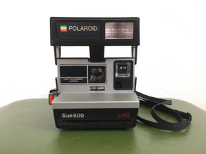 Vintage Instant Polaroid Sun 600 LMS - Tested & Working