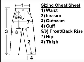 How to find your sizes!