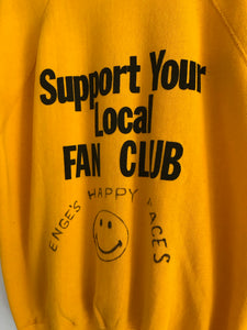 Vintage 70s Happy Club Sweater Tee