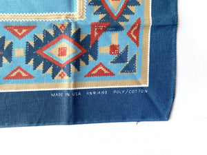 Vintage faded Southwest Bandana
