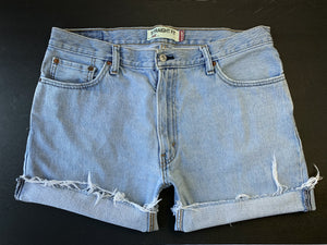 Levi's 505 Lightwash Cutoff Shorts