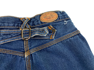 Vintage Lower Back Buckle Jeans