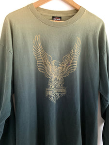 Soft Gradient Harley Davidson Long Sleeve