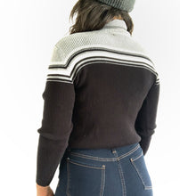 Load image into Gallery viewer, Vintage Stripe Turtle Neck