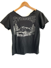 Load image into Gallery viewer, 80s Sturgis Bull Skull Tee