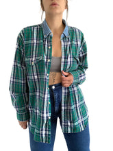 Load image into Gallery viewer, Vintage Plaid Button Up