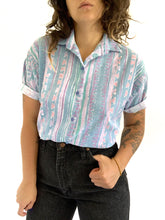 Load image into Gallery viewer, Vintage Abstract Button up