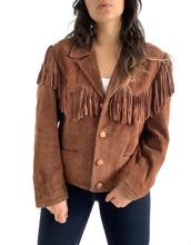 Load image into Gallery viewer, Vintage Fringe Western Jacket