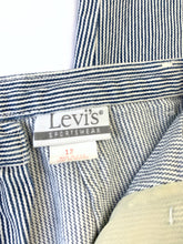 Load image into Gallery viewer, Vintage 1980's Levi's Sportswear Pinstripe Denim Trousers