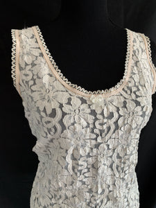 Floral Lace Tank Top