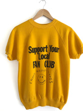 Load image into Gallery viewer, Vintage 70s Happy Club Sweater Tee