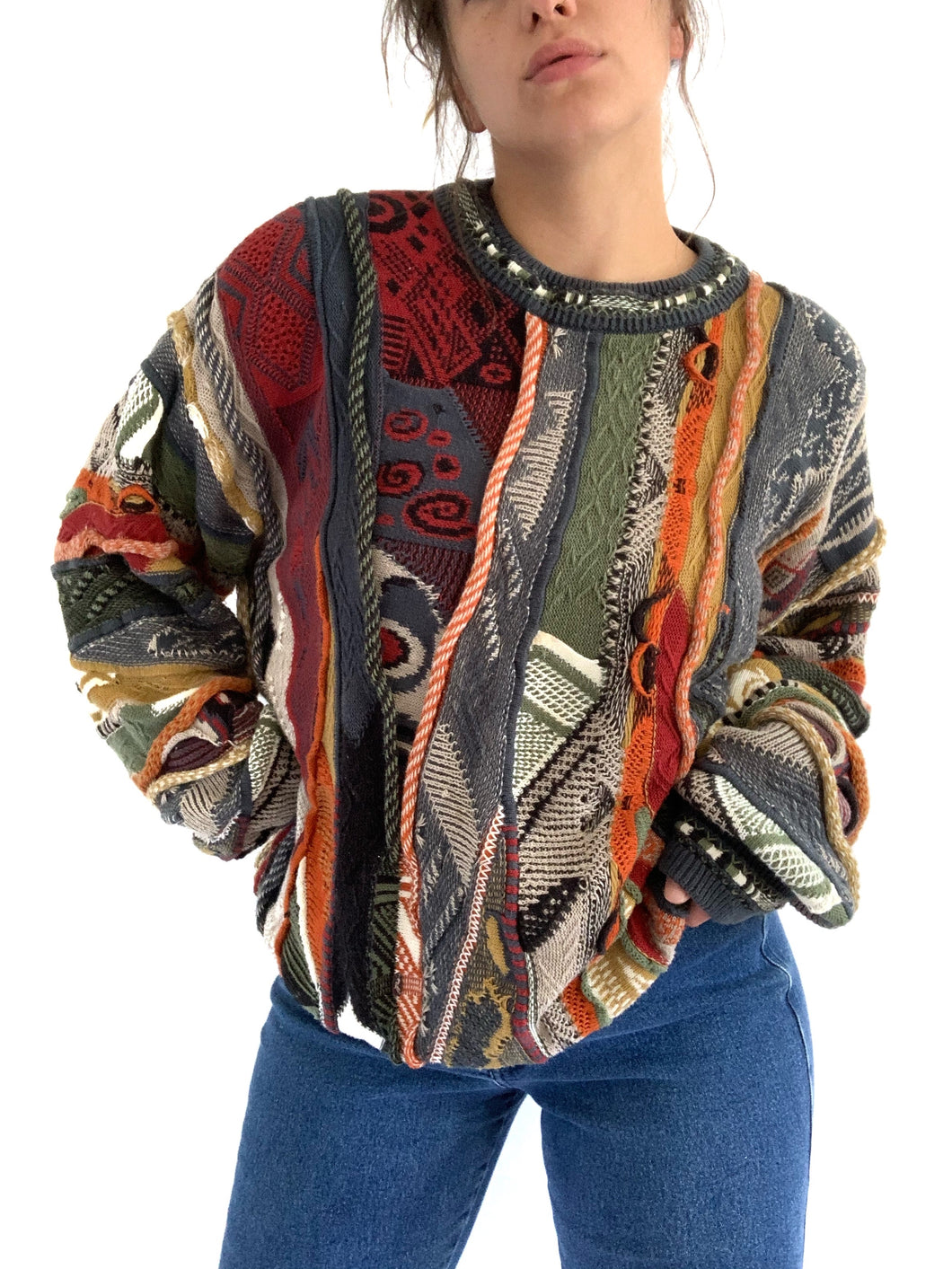 Vintage 1990s Coogi Vibes Sweater