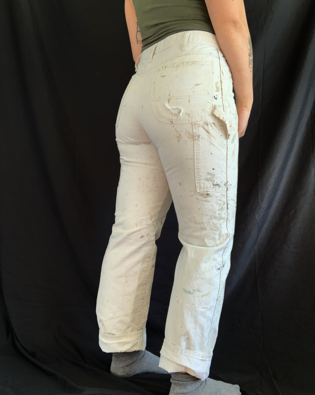 Vintage Paint Stained Dickies
