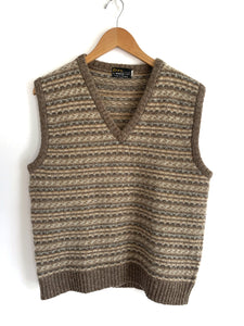 Vintage Wool Sweater Vest