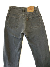 Load image into Gallery viewer, Vintage Faded Grey 1980's 501 Levi's
