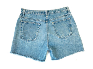 Vintage Light Stonewash Cutoff Shorts