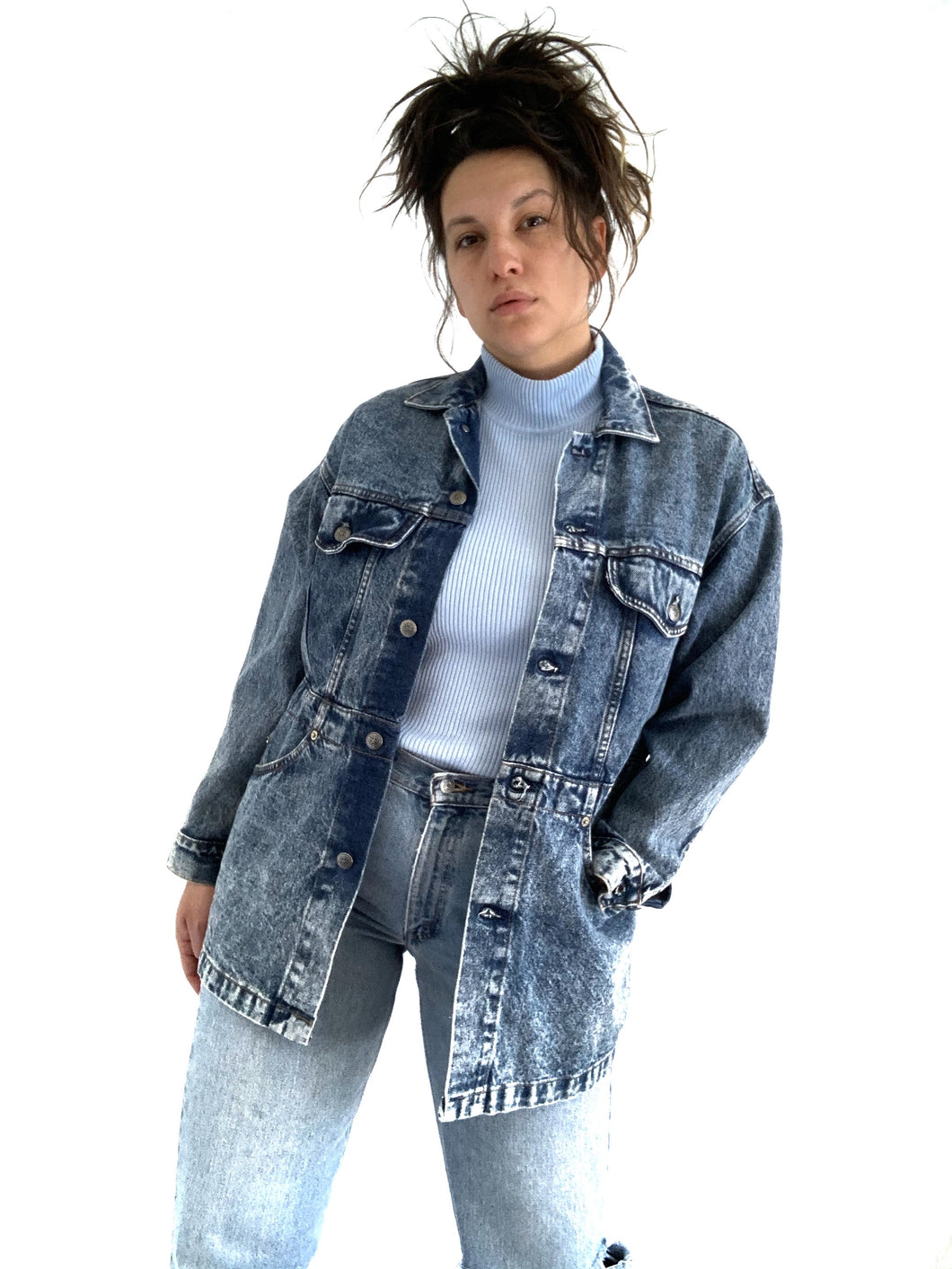 Vintage Acidwash Levi's Chore Coat