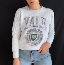 Load image into Gallery viewer, Vintage Yale Crew Sweater