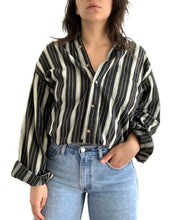 Load image into Gallery viewer, Vintage Stripe Button Up