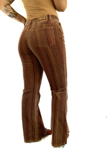 Funky Y2K Corduroy Flare Bell Bottoms