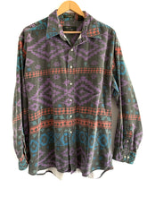 Load image into Gallery viewer, Vintage faded southwest button up