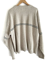 Load image into Gallery viewer, Vintage Oatmeal Stripe Sweater