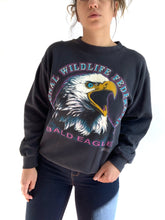 Load image into Gallery viewer, Vintage Bald Eagle Sweater