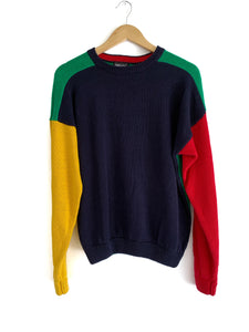Vintage Colorblock Sweater