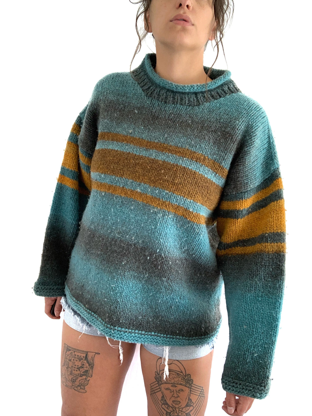 Vintage Cozy Wool Sweater