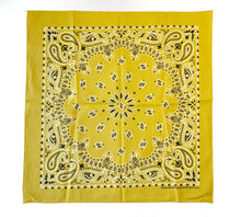 Load image into Gallery viewer, Vintage Mustard Bandana