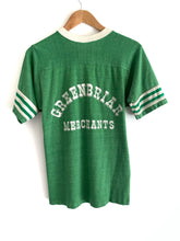 Load image into Gallery viewer, Vintage 70s Kelly Green Baseball Tee
