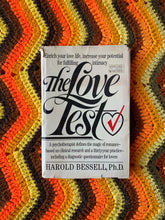 "Load image into Gallery viewer, ""The Love Test"" 1984 Vintage Book"