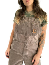Load image into Gallery viewer, Work Worn Carhartt Overalls