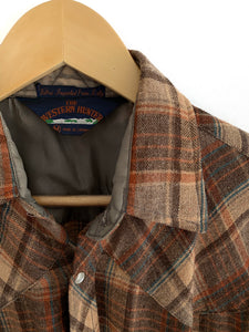 Vintage 1970s Wool Flannel