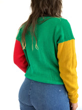 Load image into Gallery viewer, Vintage Colorblock Sweater