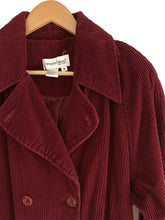 Load image into Gallery viewer, Vintage Cranberry Corduroy Jacket