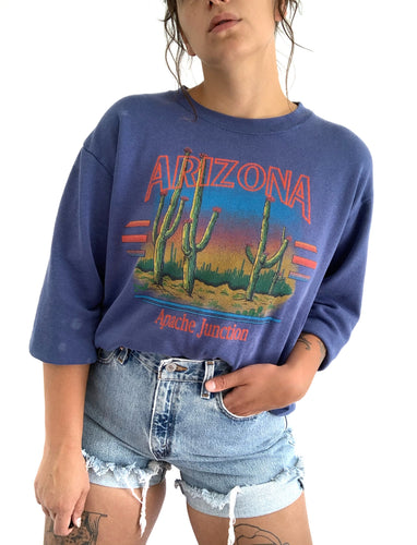 Vintage Arizona Cactus Sweater