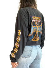 Load image into Gallery viewer, Heavily Faded Biker Long Sleeve