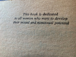 """For Yourself: Female Sexuality"" Vintage 1975 Book"