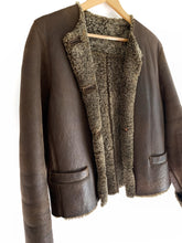Load image into Gallery viewer, Vintage Shearling Jacket