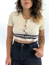 Load image into Gallery viewer, Vintage 90s Crop Length Blouse