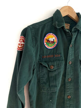 Load image into Gallery viewer, Vintage 1950s Boy Scout Button Up