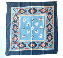 Load image into Gallery viewer, Vintage faded Southwest Bandana