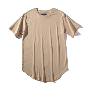 Solid Color Hiphop Men's T-Shirts
