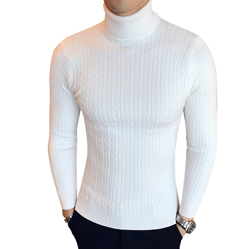 Winter High Neck Thick Warm Sweater