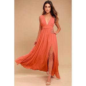 Long Elegant Party Slim Dresses