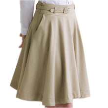 High Waist Pleated Skirts